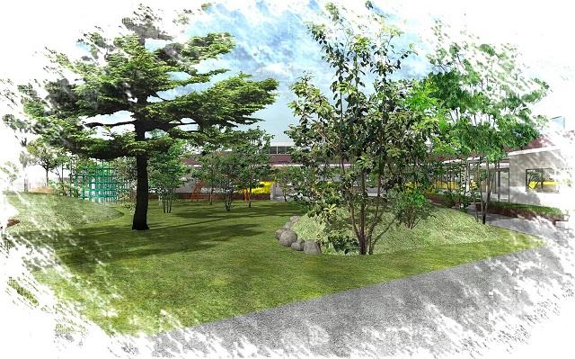 わかば保育園園庭2