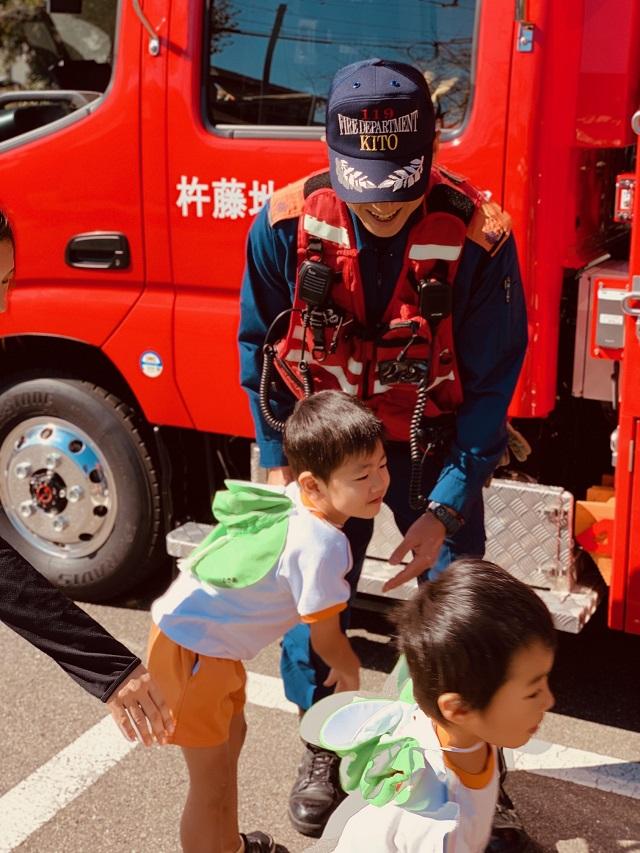 白石町 消防訓練 わかば保育園1