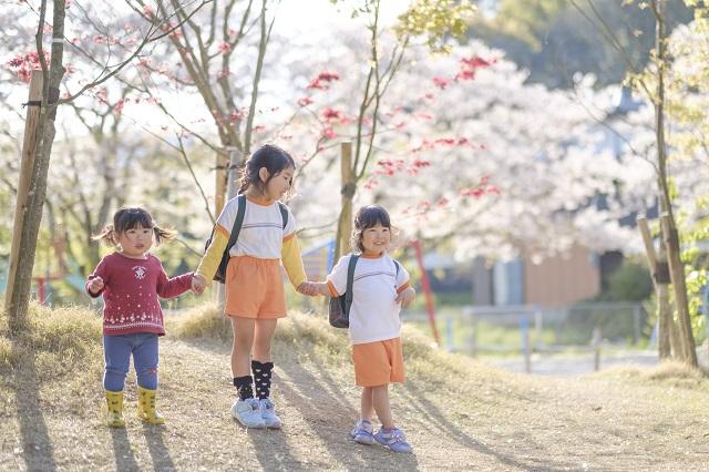 佐賀県 白石町 保育園 春 諸石撮影2