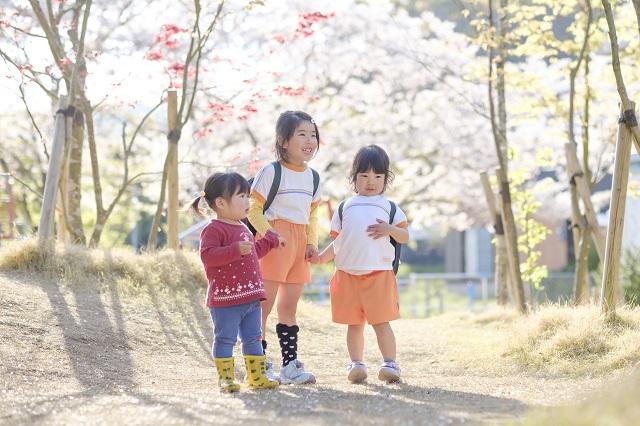 佐賀県 白石町 保育園 春 諸石撮影1